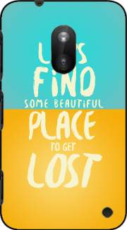 Let's find some beautiful place Case for Nokia Lumia 620