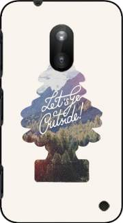 Let's go outside Case for Nokia Lumia 620