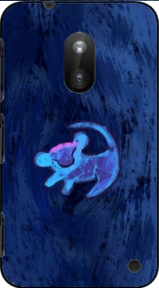 Lion King Neon Symbole Three Nokia Lumia 620 Case