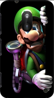 Luigi Mansion Fan Art Nokia Lumia 620 Case
