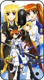 Mahou Shoujo Lyrical Nanoha Magical girl Case for Nokia Lumia 620