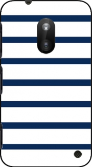 Marinière Blue / White Case for Nokia Lumia 620