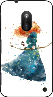 Merida Watercolor Nokia Lumia 620 Case