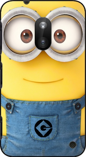 Case Minions Face for Nokia Lumia 620