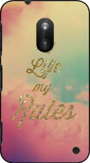 My life My rules Case for Nokia Lumia 620