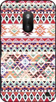Red Native Bandana Aztec Case for Nokia Lumia 620