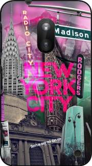 New York City II [pink] Case for Nokia Lumia 620