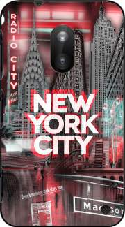 New York City II [red] Case for Nokia Lumia 620