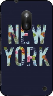 New York Floral Case for Nokia Lumia 620