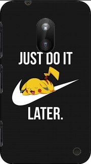 Nike Parody Just Do it Later X Pikachu Nokia Lumia 620 Case