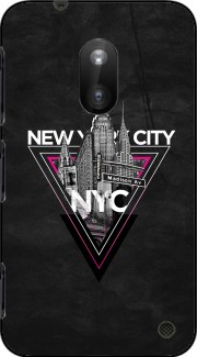 NYC V [pink] Case for Nokia Lumia 620