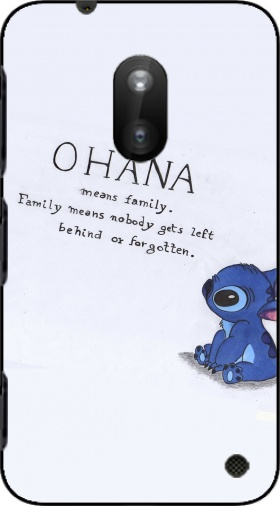 Case Ohana Means Family for Nokia Lumia 620