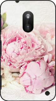 peonies on white Case for Nokia Lumia 620