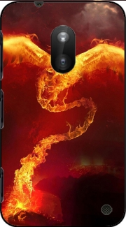 Phoenix in Fire Nokia Lumia 620 Case