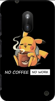 Pikachu Coffee Addict Nokia Lumia 620 Case