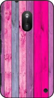 Pink wood Case for Nokia Lumia 620