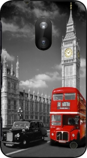Red bus of London with Big Ben Case for Nokia Lumia 620