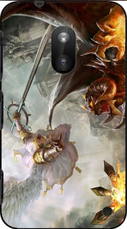 Saint Michael Archange versus Demon Case for Nokia Lumia 620