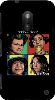 Scoops Troop Stranger Things Nokia Lumia 620 Case