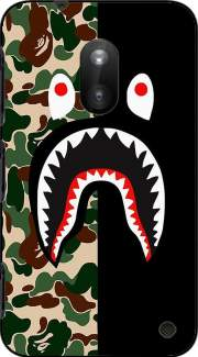 Shark Bape Camo Military Bicolor Case for Nokia Lumia 620