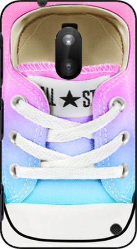 Case All Star Basket shoes rainbow for Nokia Lumia 620