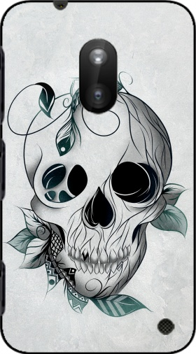 Case Skull Boho  for Nokia Lumia 620