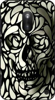 Skull Zebra White And Black Case for Nokia Lumia 620
