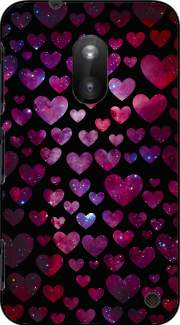 Space Hearts Case for Nokia Lumia 620