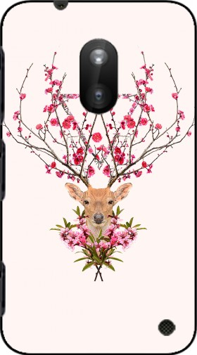 Case Spring Deer for Nokia Lumia 620