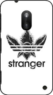 Stranger Things Demogorgon Monster JOKE Adidas Parodie Logo Serie TV Case for Nokia Lumia 620