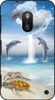 The Heart Of The Dolphins Case for Nokia Lumia 620