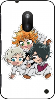 The Promised Neverland Emma Ray Norman Chibi Nokia Lumia 620 Case