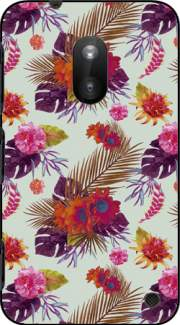 Tropical Floral passion Case for Nokia Lumia 620