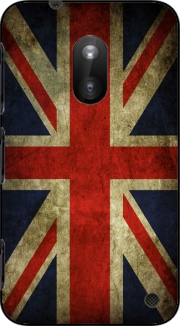 Old-looking British flag Case for Nokia Lumia 620