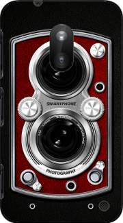Vintage Camera Red Case for Nokia Lumia 620