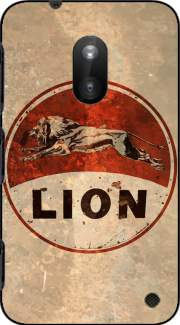 Vintage Gas Station Lion Case for Nokia Lumia 620