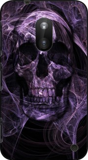 Violet Skull Case for Nokia Lumia 620