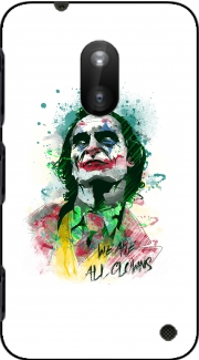 Watercolor Joker Clown Nokia Lumia 620 Case