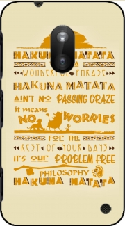 What means Hakuna Matata Nokia Lumia 620 Case