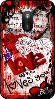 Who Loves You ? Case for Nokia Lumia 620