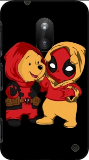 Winnnie the Pooh x Deadpool Case for Nokia Lumia 620