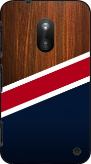 Wooden New England Case for Nokia Lumia 620