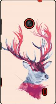Deer paint Case for Nokia Lumia 630