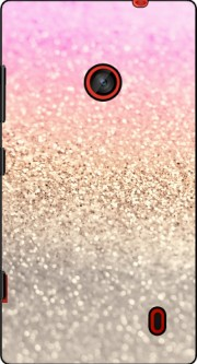 Gatsby Glitter Pink Case for Nokia Lumia 630