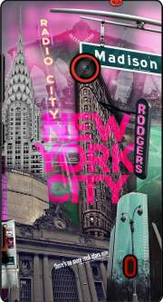 New York City II [pink] Case for Nokia Lumia 630
