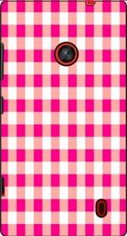 Pink Square Vichy Case for Nokia Lumia 630
