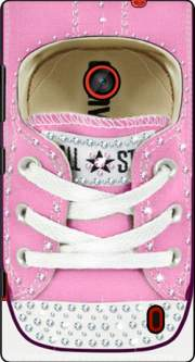 All Star Basket shoes Pink Diamonds Case for Nokia Lumia 630