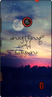 Anything could happen Case for Nokia Lumia 635