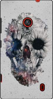 Floral Skull 2 Case for Nokia Lumia 635
