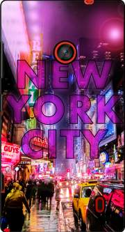 New York City - Broadway Color Case for Nokia Lumia 635